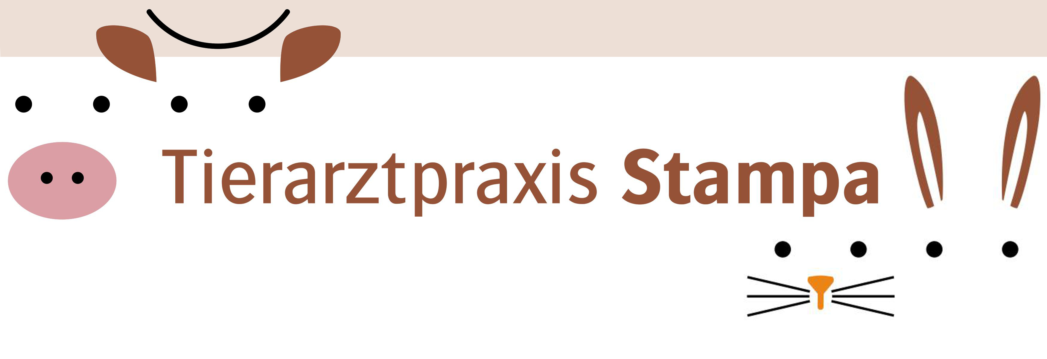 Tierarztpraxis Stampa Logo